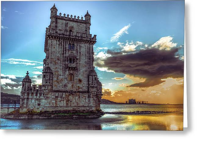 Belem Tower II Greeting Card