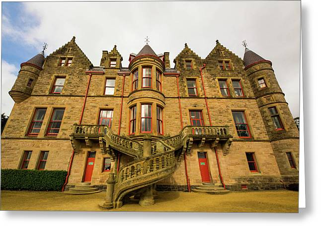 Belfast Castle Greeting Card