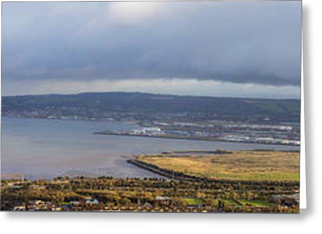 Belfast Lough  Greeting Card
