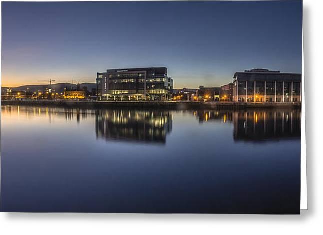 Belfast Near The Docks Greeting Card
