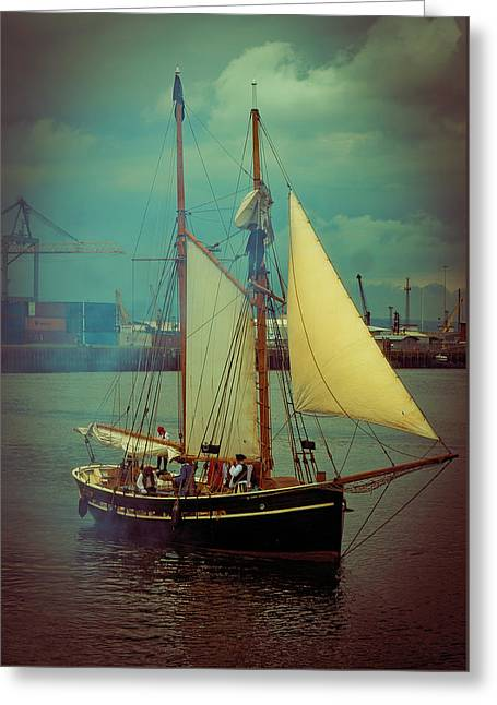 Belfast Tall Ships Greeting Card