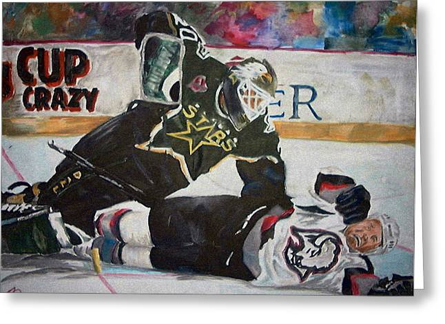 Belfour Greeting Card by Travis Day