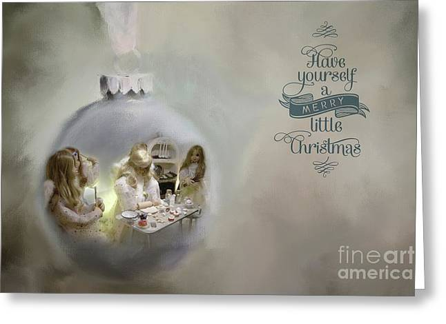 Believe In The Magic Of Christmas Greeting Card