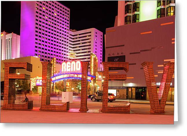 Greeting Card featuring the photograph Believe Reno Nevada by Scott McGuire