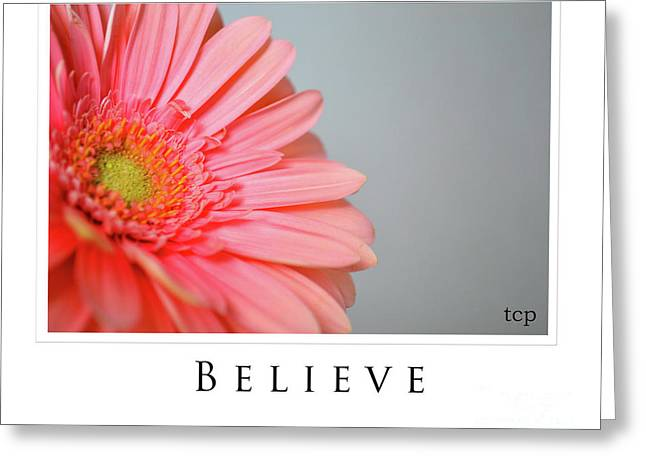 Greeting Card featuring the photograph Believe by Traci Cottingham