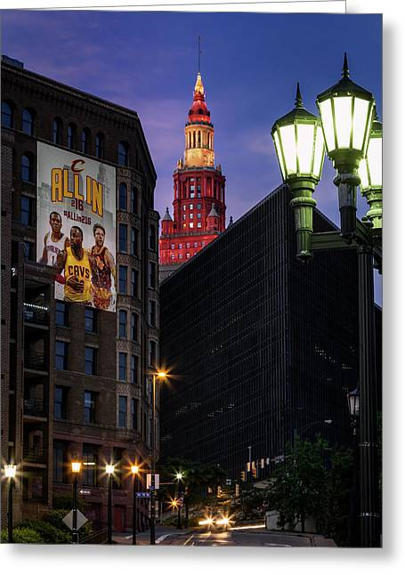 Believeland Greeting Card by Dale Kincaid