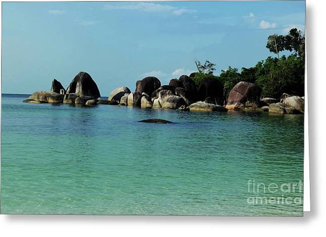 Belitung Island Greeting Card