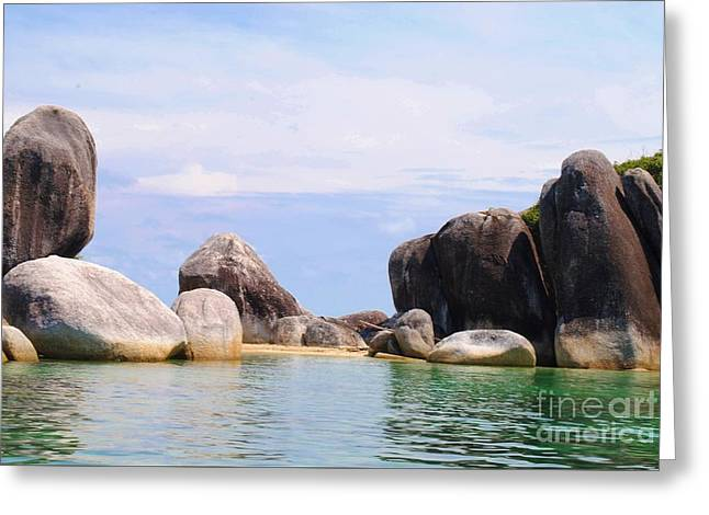 Belitung Island Wall Greeting Card