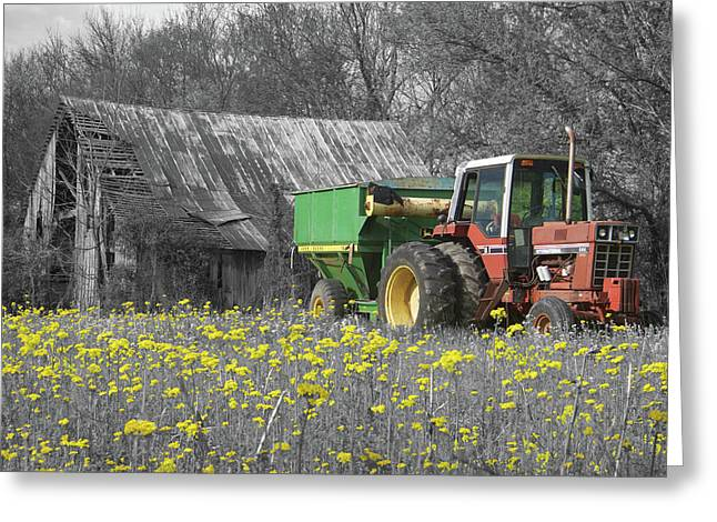 Belknap Farm Greeting Card by Dylan Punke