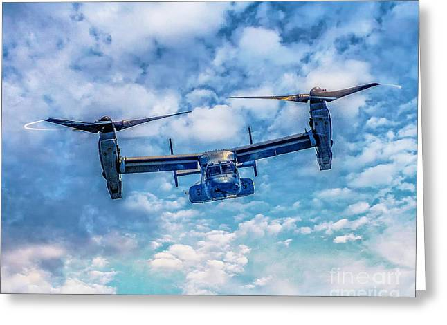 Bell Boeing V-22 Osprey  Greeting Card