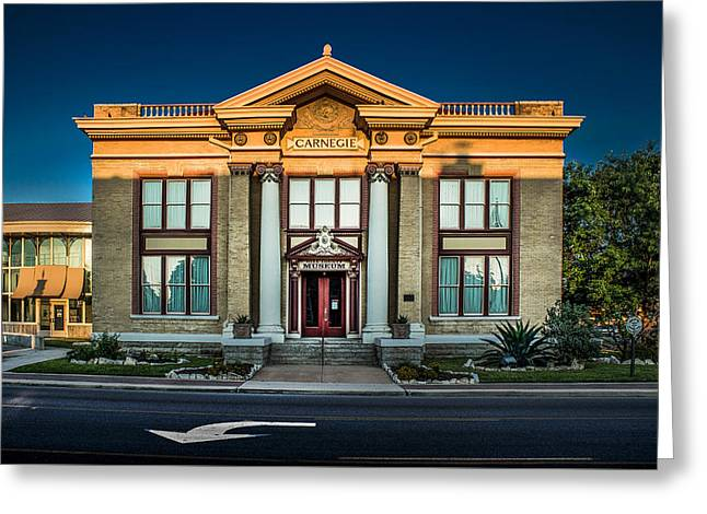 Bell County Museum Greeting Card by Jim Painter