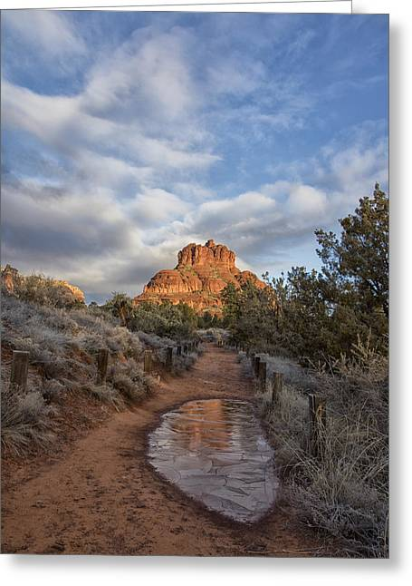 Bell Rock Beckons Greeting Card