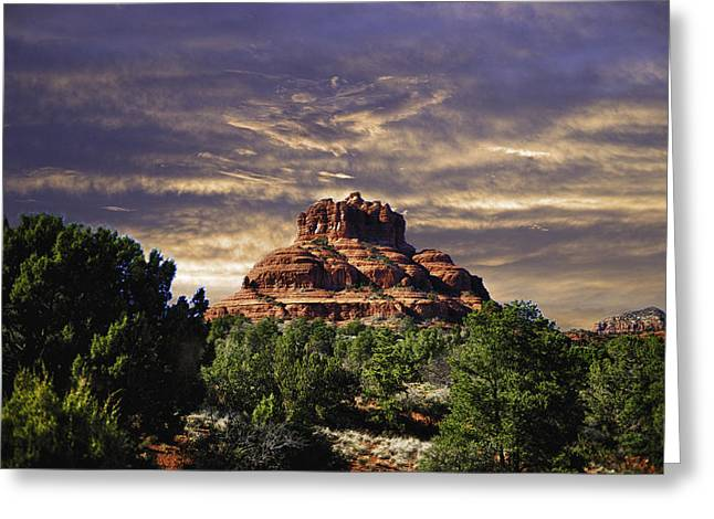 Bell Rock In Hdr Greeting Card by Frank Feliciano