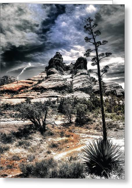 Greeting Card featuring the photograph Bell Rock by Jim Hill