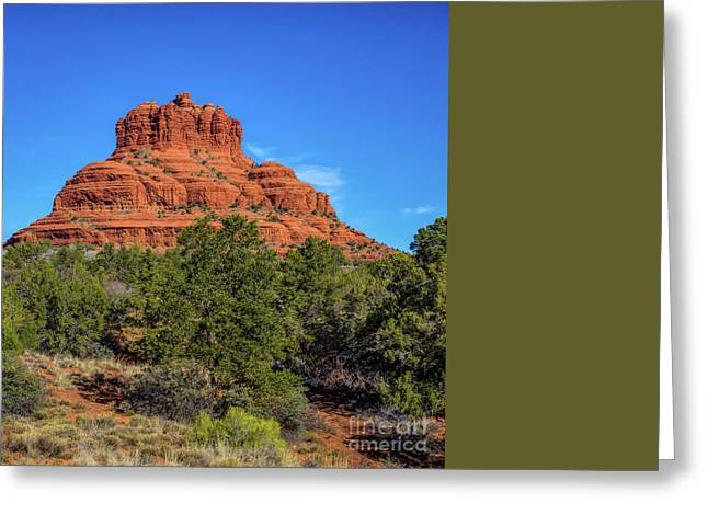 Bell Rock Greeting Card by Jon Burch Photography
