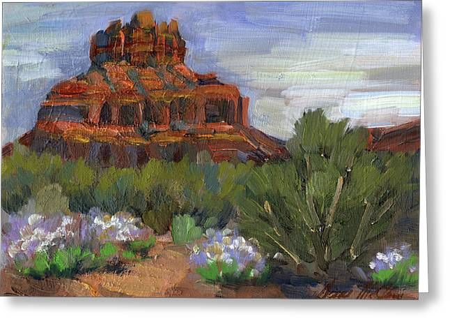 Bell Rock Sedona Greeting Card by Diane McClary