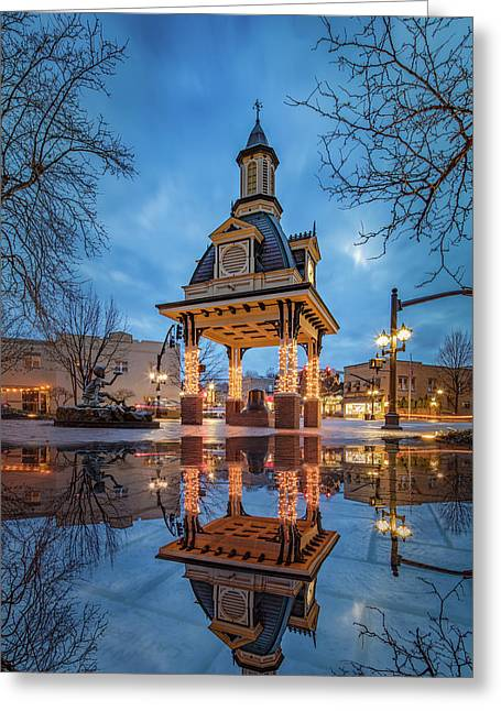 Bell Tower  In Beaver  Greeting Card