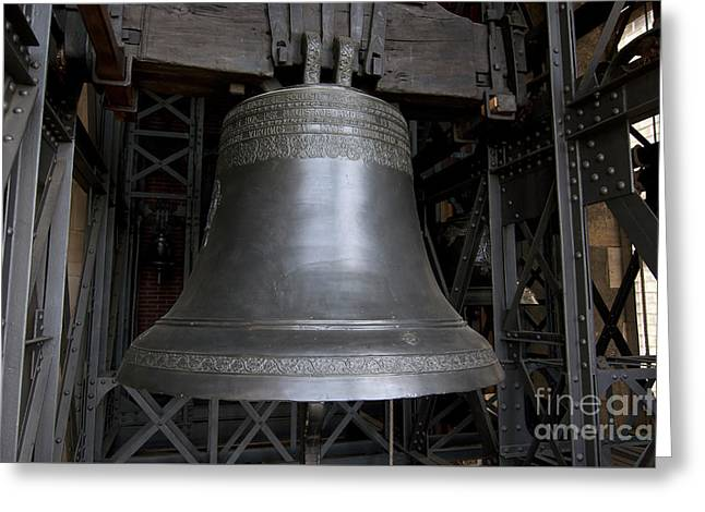 Bell Wenceslav In Cathedral Of St Vitus Greeting Card