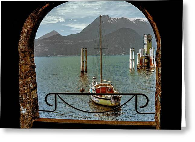 Bella Varenna - For Print Or Wrapped Canvas Greeting Card