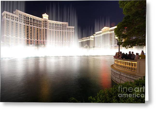 Bellagio Greeting Card by Spencer Baugh