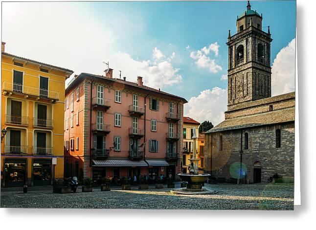 Bellagio, Lake Como, Italy. Greeting Card