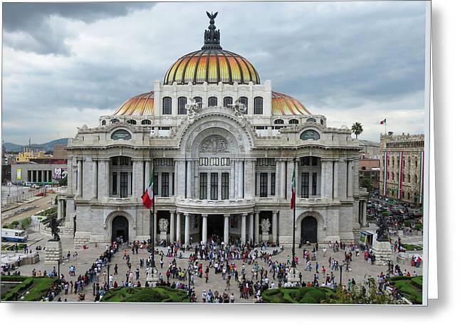 Bellas Artes Greeting Card