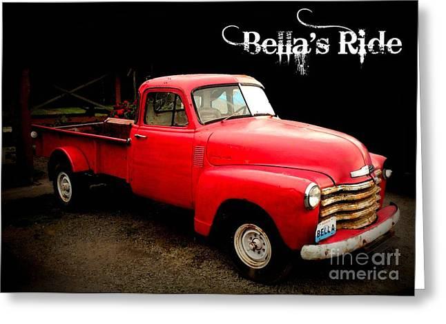 Bella's Ride Greeting Card