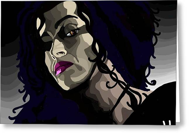 Bellatrix Greeting Card by Lisa Leeman