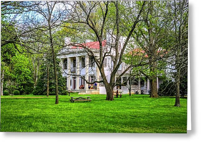 Belle Meade Plantation, Nashville Greeting Card by Chris Smith
