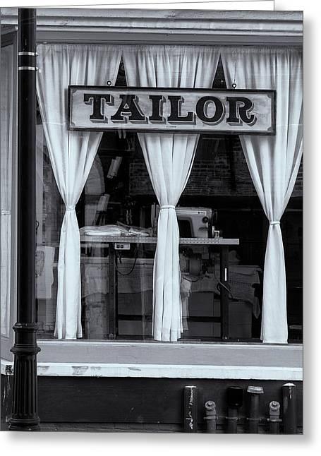 Bellows Falls Tailor Greeting Card