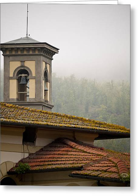 Bells Of Greve In Chianti Greeting Card by Rae Tucker