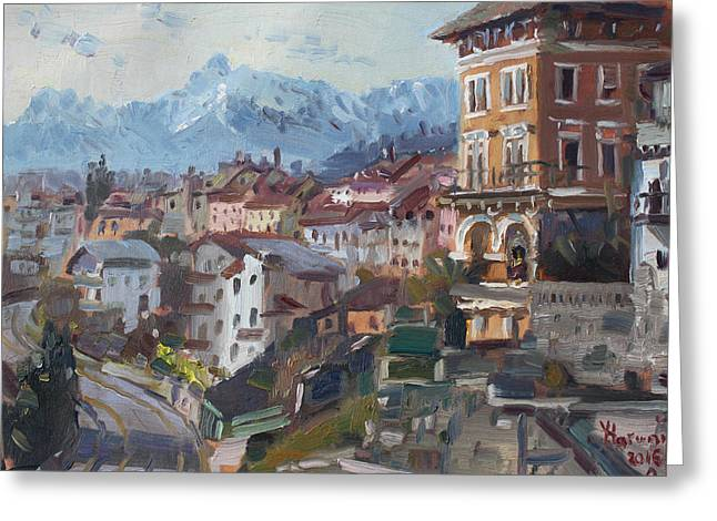 Belluno, Italy Greeting Card