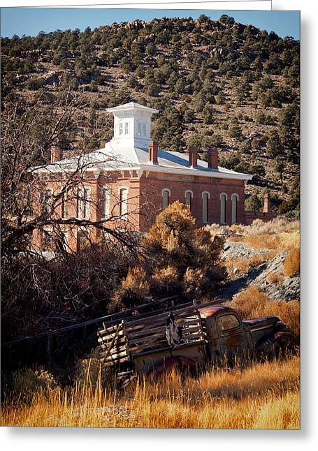 Belmont Courthouse Greeting Card
