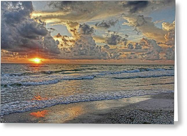 Beloved - Florida Sunset Greeting Card