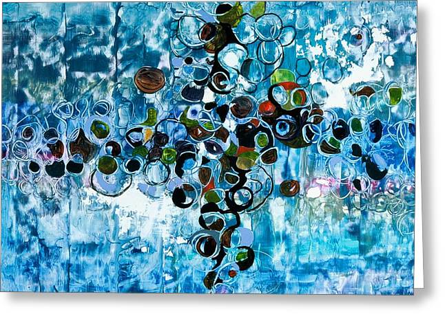 Below The Surface Greeting Card by Jane Ferguson