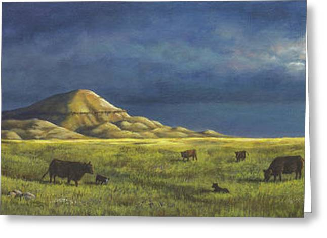Belt Butte Spring Greeting Card