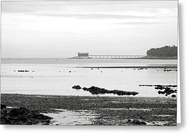 Bembridge Lifeboat Station From St Helens Greeting Card by Rod Johnson