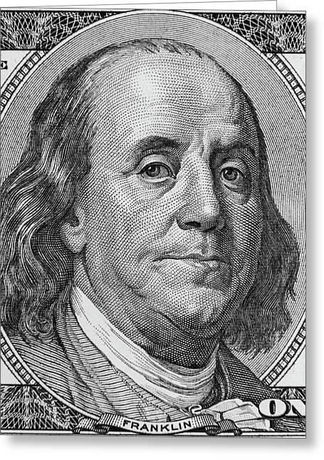 Greeting Card featuring the photograph Ben Franklin by Les Cunliffe