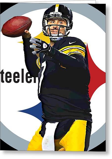 Ben Roethlisberger Greeting Card
