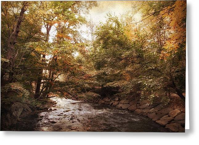 Bend In The River Greeting Card by Jessica Jenney