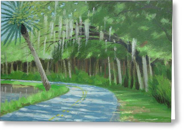 Bend In The Road No. 2 Greeting Card by Robert Rohrich
