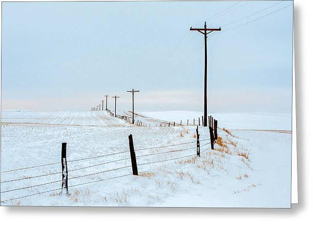 Bend In The Road Greeting Card by Todd Klassy