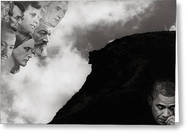 Greeting Card featuring the photograph Bending Toward Justice by Wayne King