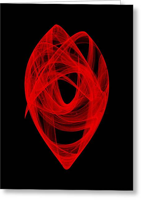 Bends Unraveling I Greeting Card