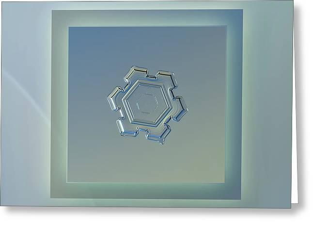 Beneath A Steel Sky - Pastel Frame Greeting Card
