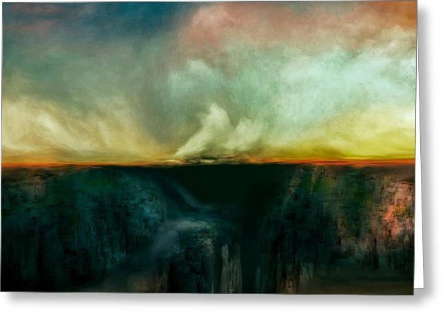 Beneath The Surface Greeting Card by Lonnie Christopher