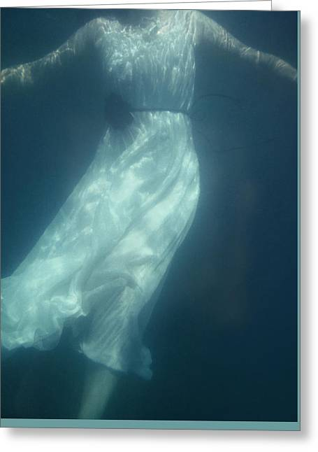 Beneath The Surface Greeting Card by Mark Owen