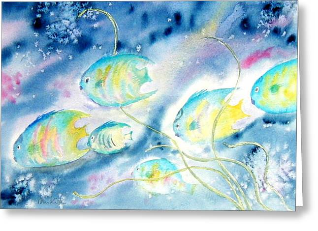 Beneath The Waves Greeting Card