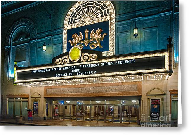 Benedum Center Greeting Card