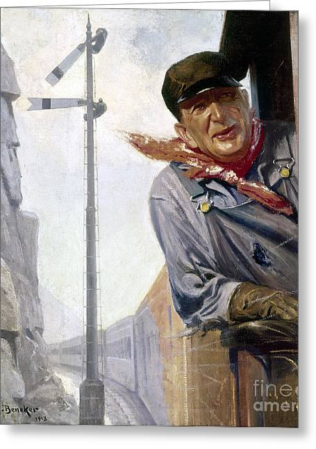 Beneker: The Engineer, 1913 Greeting Card by Granger